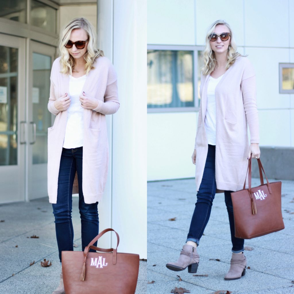 Tall Pink Duster Thanksgiving Lookbook