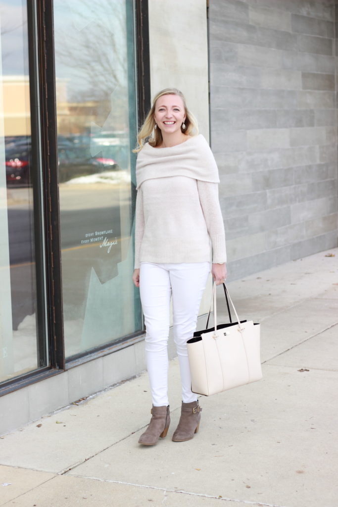 Winter Whites Kate Spade Express Look